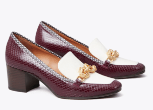 Fashion trends for fall 2020 heeled loafers