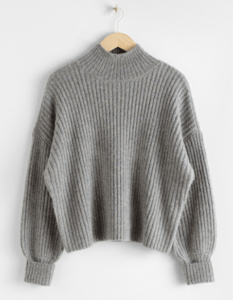 fall fashion trends 2020 cozy mock neck sweater