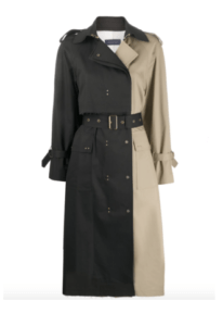 fashion trends for fall bits of black belted trench